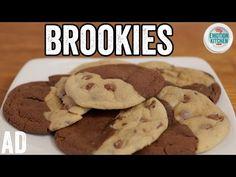BROOKIES (BROWNIE COOKIES!) RECIPE   EMOTION COOKBOOK #6 COMFORT #ad - YouTube