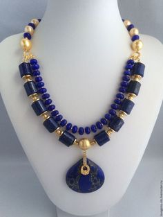 Necklace, handmade necklace. Fair Masters - handmade. Buy a necklace from natural stones and pearls TRADITION. Handmade. Necklace
