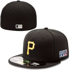 3d60b2beacd New Era Pittsburgh Pirates 2014 Postseason Patch Authentic Collection  On-Field 59FIFTY Fitted Hat Pittsburgh