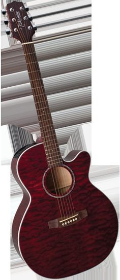 EG440C-STRQ 6 String Acoustic / Electric Guitar (Discontinued) - Takamine Guitars