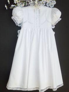 Heirloom Flower Girls Dress. $120.00, via Etsy