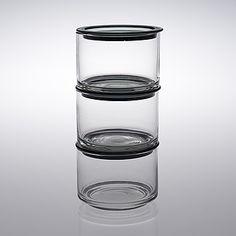 "KAJ FRANCK - Glass jars ""Hillopurkki"" for Nuutajärvi Notsjö, 1960. Glass Design, Design Art, Bukowski, Glass Jars, Finland, Modern Contemporary, Scandinavian, Retro Vintage, Beautiful"