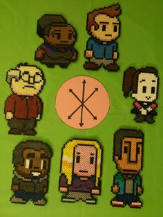 Completed Community perler bead Sprites by 8bitsofawesome on deviantart