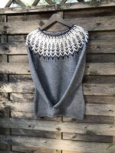 Fair Isle Knitting, Cross Stitch, Pullover, Crochet, Sweaters, Fashion, Crocheting, Tejidos, Tops