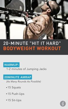 Elite CrossFit athlete Jason Khalipa has a surprisingly simple approach to fitness: Get after it, hit it hard, repeat. Check out his inspiring, actionable tips for getting in shape, along with the fast and effective bodyweight workout he swears by. #quick http://healthyquickly.com
