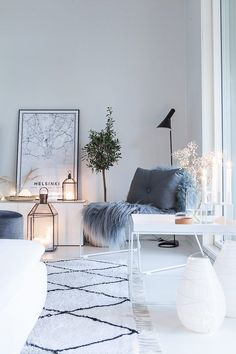 You Can Own Amazing Winter Interior Design With Low Budget Decor, Family Room Design, Nordic Living Room, Room Inspiration, Living Room Designs, Winter Interior Design, Interior, Living Room Decor, House Interior