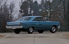 1967 Ford Fairlane GT-390, 4 speed