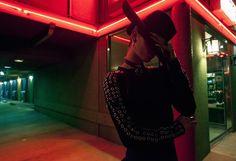 Under Neon Light Portraits