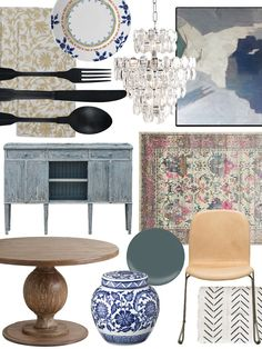 Create the Look: Eclectic Collector Dining Room Shopping Guide