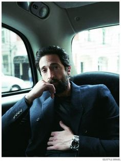 Adrien Brody Covers GQ Style Brasil Summer 2015 Issue
