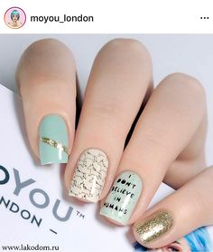 Beautiful Nail Art Designs That Will Catch Your Eye - Major Mag Crazy Nails, Fancy Nails, Love Nails, My Nails, Beautiful Nail Art, Gorgeous Nails, Pretty Nails, London Nails, Modern Nails