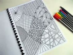 Printable Zentangle Coloring Pages - Bing Images