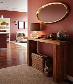 Niche Interiors - Eco-friendly Pied-a-terre Sélection Pantone 2015 Marsala : Blog Univers Créatifs. #Marsala #Pantone