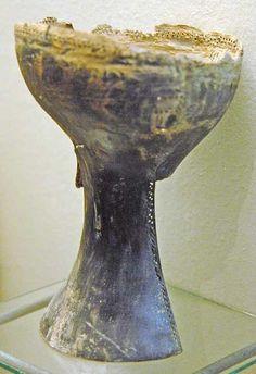 Drum. Pazyryk, Altai, 3rd c. BCE.