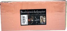 Bonbonwickelpapier Bund Seidenpapier 11 x 24 cm ca. Letter Board, The 100, Lettering, How To Make, Self, Candy, Letters, Texting, Calligraphy