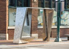 robert maschke ARCHITECTS · Gordon Square Bus Shelter