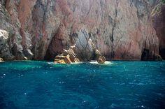 Le fauteuil de Poseidon, réserve de Scandola