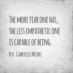 Let go of fear!