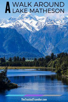 Lake Matheson & Mt Cook - New Zealand | #travel #traveltips #newzealand