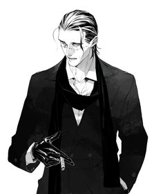 This man has so much style, it's almost illegal. And for some reason, he reminds me of Loki in this picture. Whoever made this - thumbs up!