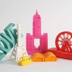 Free 3D file Famous Building Taiwan Kaohsiung City, ATOM3dp