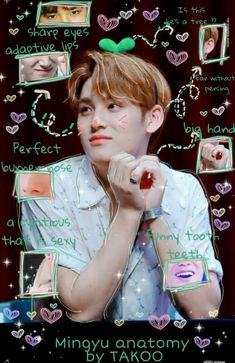 Mingyu Wonwoo, Seungkwan, Woozi, Seventeen Memes, Mingyu Seventeen, Big Puppies, Face Swaps, Adore U, Seventeen Wallpapers