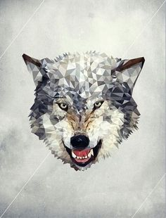wolf illustration by Luis Aguilera