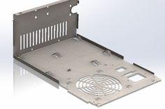 Power Supply sheet metal case model LPJ2-20 - SOLIDWORKS - 3D CAD model - GrabCAD