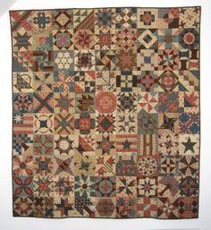 """Sélection Brouage 2013 Quilts de Légende - """"1865 Passion Sampler"""""""
