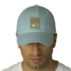 969a727c4f4 Hole In One Embroidered Baseball Hat. Embroidered Baseball CapsEmbroidered  HatsCustomizable GiftsDad ...