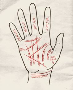 Palm Reading Instructions, a great know-how for fortune tellers, and halloween costume fortune tellers ;)