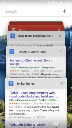 Multitasking on Google Lollipop: A closer look at how Material Design improves productivity