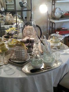 Table at Villa Toscana shop