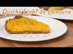 Quiche Light de Cenoura - Receitas de Minuto #74