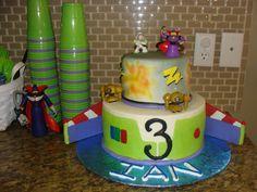 Buzz light year (toy story 2) cake