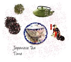 """Japanese Tea Time"" by gracesvintagegarden on Polyvore featuring interior, interiors, interior design, home, home decor, interior decorating, Primula, Bambo, etsy and teacups"
