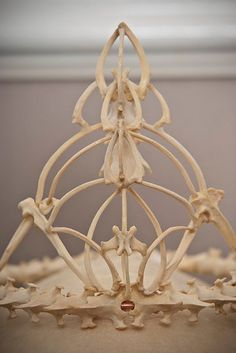 Memento Mori bone crown