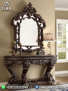 Engraving Art, Entryway Tables, Mirror, Furniture, Home Decor, Decoration Home, Room Decor, Mirrors, Home Furnishings