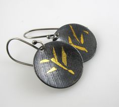 KeumBoo Earrings Abstract by StudioNaftali on Etsy