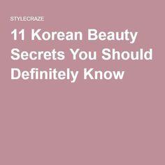 11 Korean Beauty Secrets You Should Definitely Know #MyTopWomensSkinCarePins #SkinCareSecrets #BeautyRoutine30S Cleopatra Beauty Secrets, French Beauty Secrets, Beauty Tricks, Diy Beauty, Beauty Skin, Beauty Makeup, Vaseline Beauty Tips, Korean Skincare Routine, Happy Skin