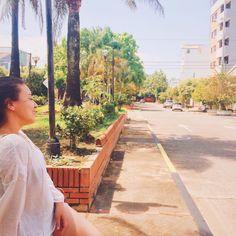 Respirando el aire fresco *no tan fresco* de la bella hija del sol #Barrancabermeja 💛
