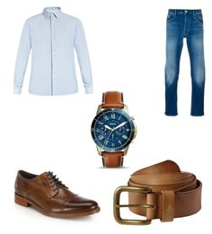 """""""Untitled #5"""" by benjaminmusic20 ❤ liked on Polyvore featuring Valentino, STONE ISLAND, Cole Haan, FOSSIL, prAna, men's fashion and menswear"""