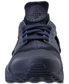 Nike Men's Air Huarache Run Running Sneakers from Finish Line - Blue 10.5