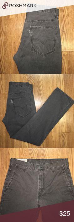 Grey Levi's Jeans / Chinos (0017) Grey Levi's Jeans / Chinos - 31x32 Levi's Jeans