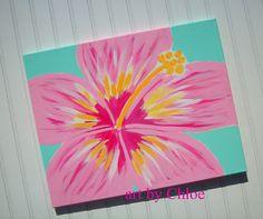 Hawaiian Hibiscus Flower Nursery Art for Ocean Beach by kaiulani, $40.00
