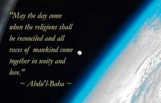 Sony Crystal - Google+The Bahai Faith is the only religion on Earth, that also believes in the other prophets Muhammad, Krishna, Buddha, Moses and Jesus. The Bahai Faith is working tirelessly towards bringing together all religions, races and countries, in a spirit of love, respect and peace.  The Bahai Faith.  http://www.bahai.org  http://www.bahai.org.au