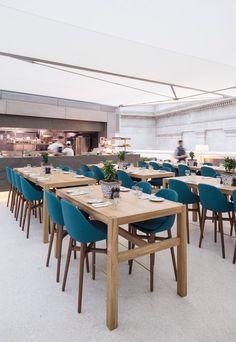 British Museum Great Court restaurant, London, 2014 - Softroom