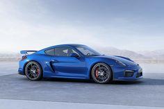 Porsche announces Cayman GT4 with 911 GT3 components