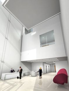 The Cube is a beautifully designed office development that required high quality computer generated imagery of external and internal areas to support the marketing and leasing process. 3D visualisation designed by www.5sqi.com  Edinburgh, UK
