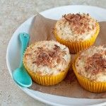 Double Coconut Crunch Muffins - Desserts for Two